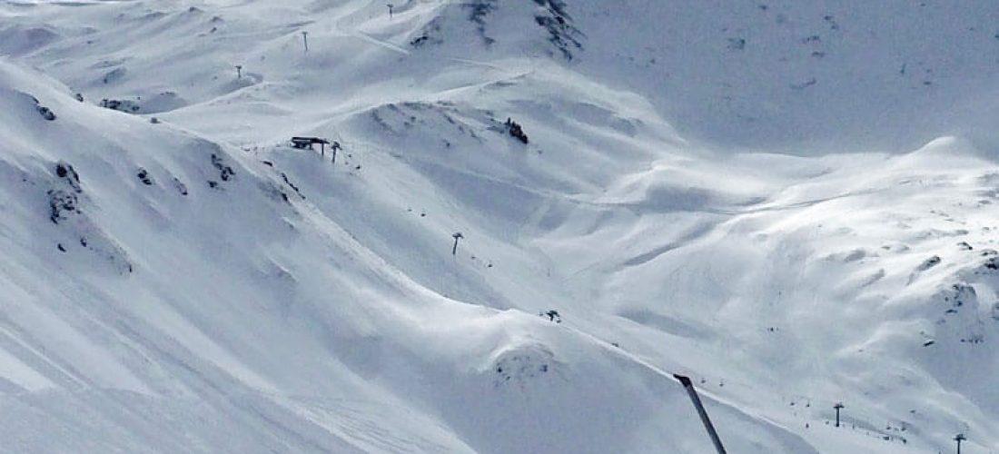 Sneeuwhoogte Obergurgl
